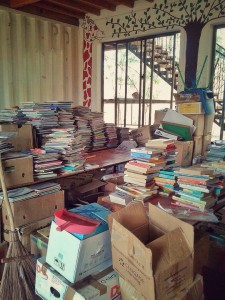 This is only a quarter of what we had to sort through