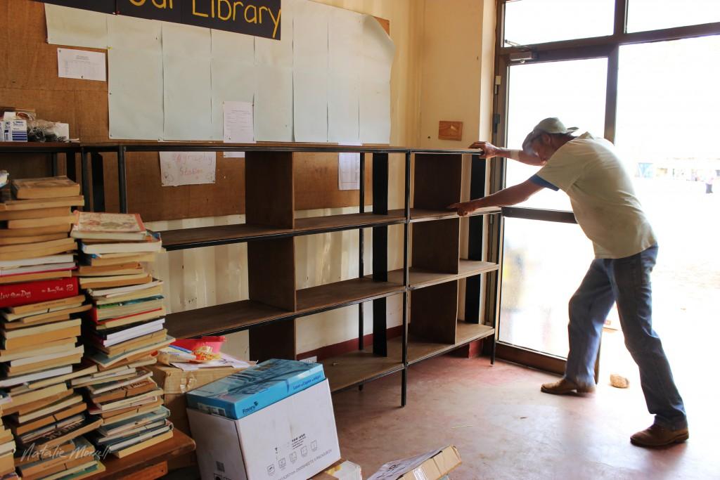 Don installing custom built shelves